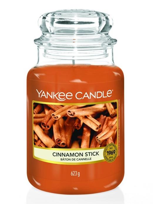 ff1f674a83 Vonná svíčka Yankee Candle CINNAMON STICK classic velký 623 g