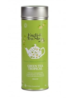 detail English Tea Shop 15 pyramidek GREEN TEA TROPICAL 30 g