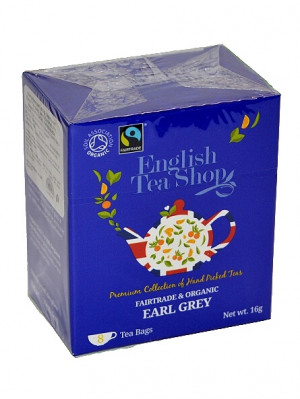 English Tea Shop BIO čaj 8 sáčků EARL GREY s bergamotem