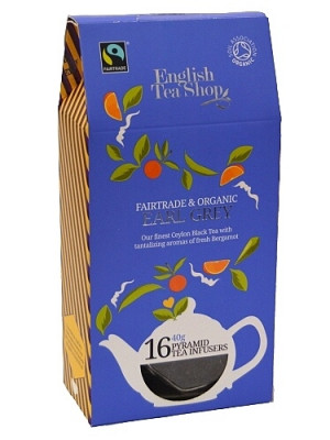 English Tea Shop BIO čaj 16 pyramidek EARL GREY