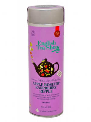 English Tea Shop 15 pyramidek APPLE ROSEHIP RASPBERRY RIPPLE 30 g