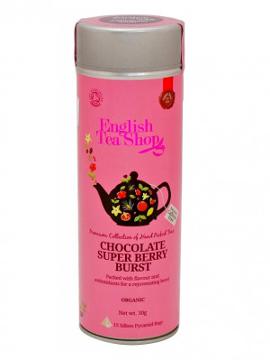 English Tea Shop 15 pyramidek CHOCOLATE SUPER BERRY BURST 30 g