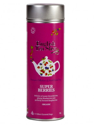 English Tea Shop 15 pyramidek SUPER BERRIES 30 g