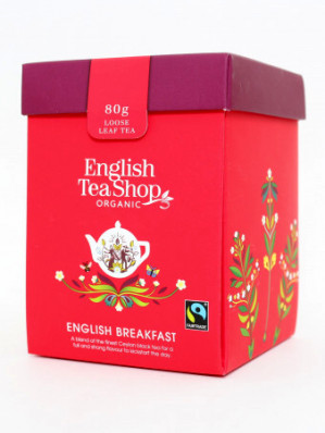 English Tea Shop 80g sypaný čaj, odměrka ENGLISH BREAKFAST