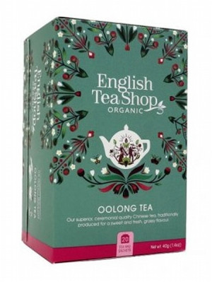 English Tea Shop Mandala - OOLONG TEA, 20 sáčků, 40 g