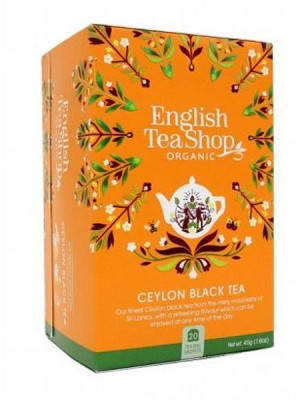 English Tea Shop Mandala - CEYLON BLACK TEA, 20 sáčků, 45 g