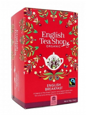 English Tea Shop Mandala - ENGLISH BREAKFAST, 20 sáčků, 50 g