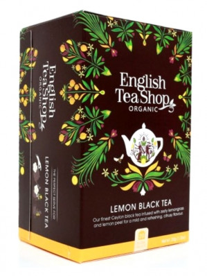 English Tea Shop Mandala - LEMON BLACK TEA, 20 sáčků, 35 g