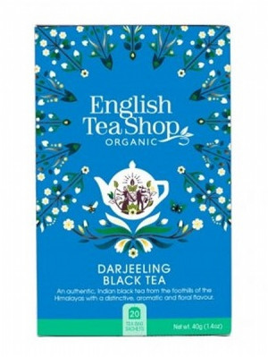 English Tea Shop Mandala - DARJEELING BLACK TEA, 20 sáčků, 40 g