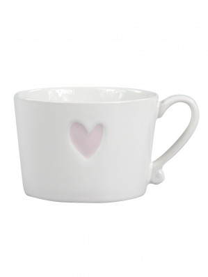 Bastion Collections Hrnek HEART ROSE 300ml (RJ/MUG HEART ROSE)
