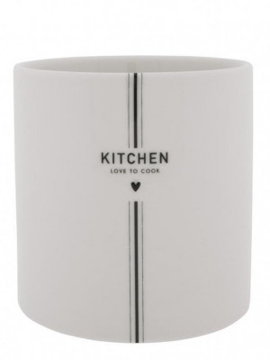 Bastion Collections Nádoba UTENSIL KITCHEN in black, 14.5x 14.5cm