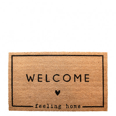 Bastion Collections Rohožka Doormat FEELING HOME, 35x75 cm