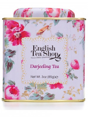 English Tea Shop BIO čaj 85g DARJEELING TEA květinový vzor
