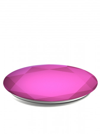 detail PopSocket Fucshia Metallic Diamond