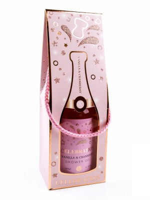 Accentra Celebration VANILLA & CRANBERRY sprchový gel 360ml
