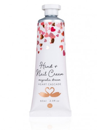 detail Accentra HEART CASCADE - NAIL&HAND CREAM bílý 60ml