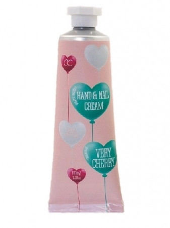 detail Accentra HEART - NAIL&HAND CREAM very cherry 60ml