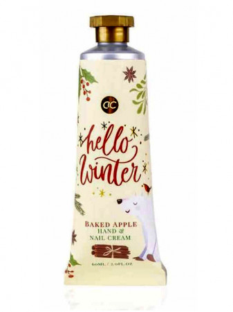 detail Accentra HELLO WINTER Baked Apple, krém na ruce 60 ml