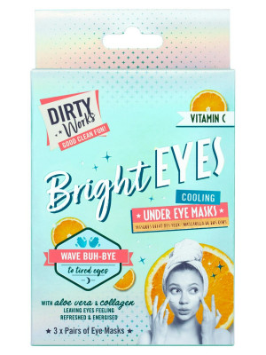 Dirty Works MASKA POD OČI - BRIGHT EYES, 3x 4 ml