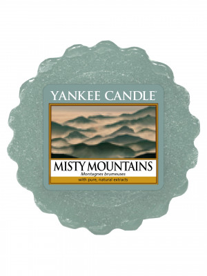 Yankee Candle MISTY MOUNTAIN vonný vosk do aromalampy 22 g